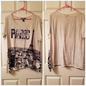 Paris Plus Size 2X Shirt